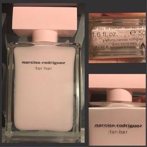 "Narciso Rodriguez eau de parfum in ""for her""!"